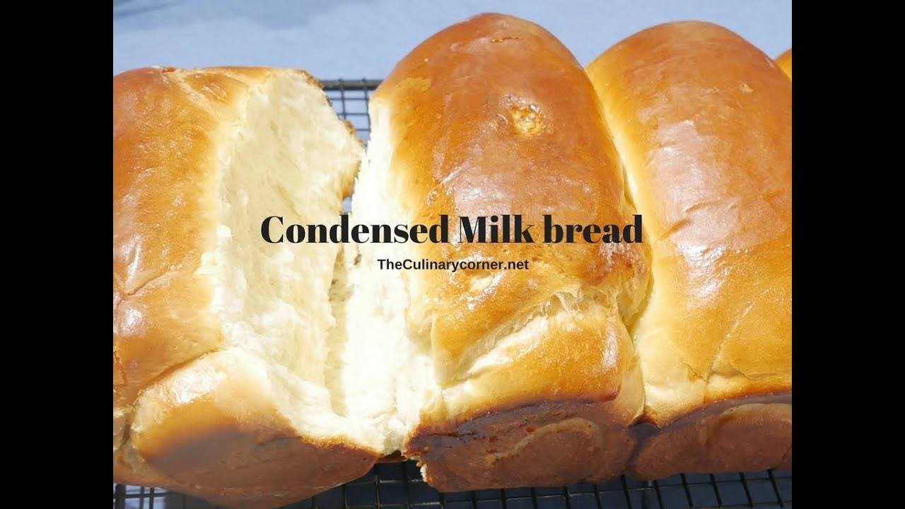 Condensed Milk Bread - YouTube