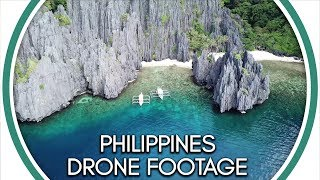 Palawan Philippines drone footage