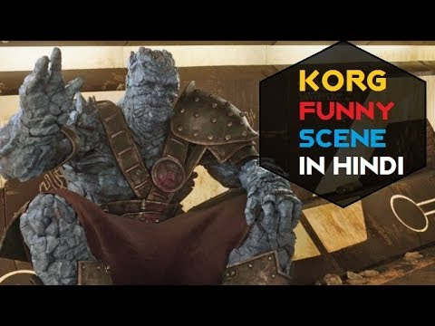 Korg Funny Scene In Hindi From Thor Ragnarok