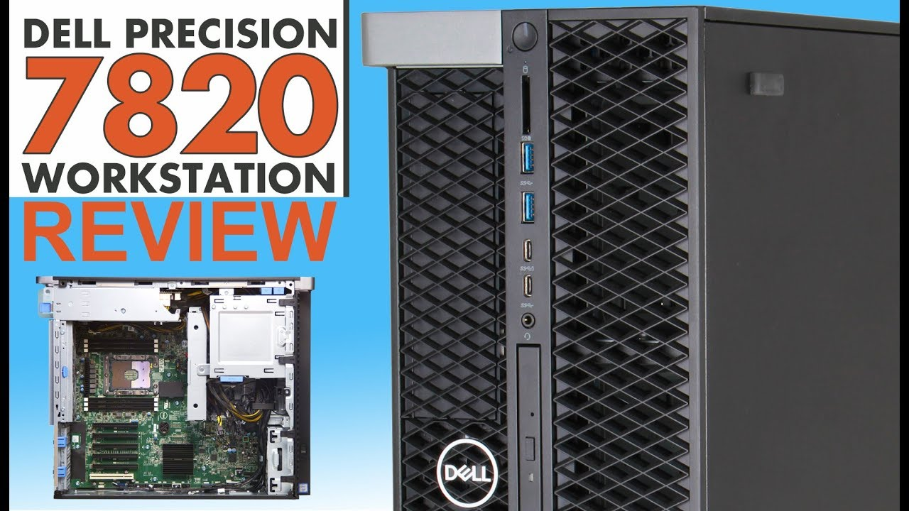 Dell Precision 7820 Tower Workstation REVIEW | IT Creations