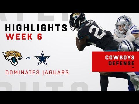Cowboys Defensive Highlights vs. Jags
