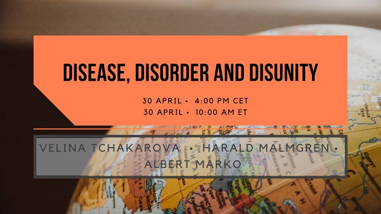 Disease, Disorder and Disunity