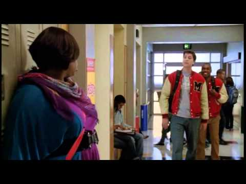 Mark Christopher Lawrence Scene on Glee
