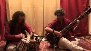 Raga Rageshwari gat David Elkabir - Sitar Shay Danon - Tabla part 4