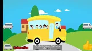 Kids Bus Song ( Kids Learning Video )