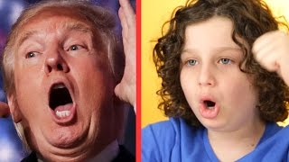 Kids Do Impressions Of Donald Trump