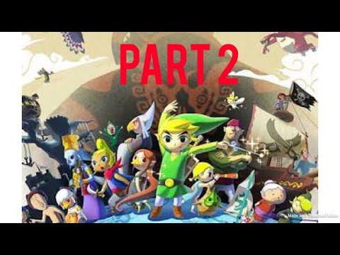 The legend of Zelda the wind waker HD part 2