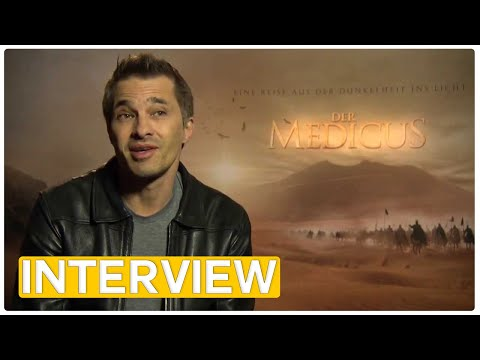 Der Medicus - The Physician | Olivier Martinez EXCLUSIVE Interview (2013)