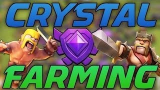 Th8 farming strategy For Crystal League(Clash of Clans) #2