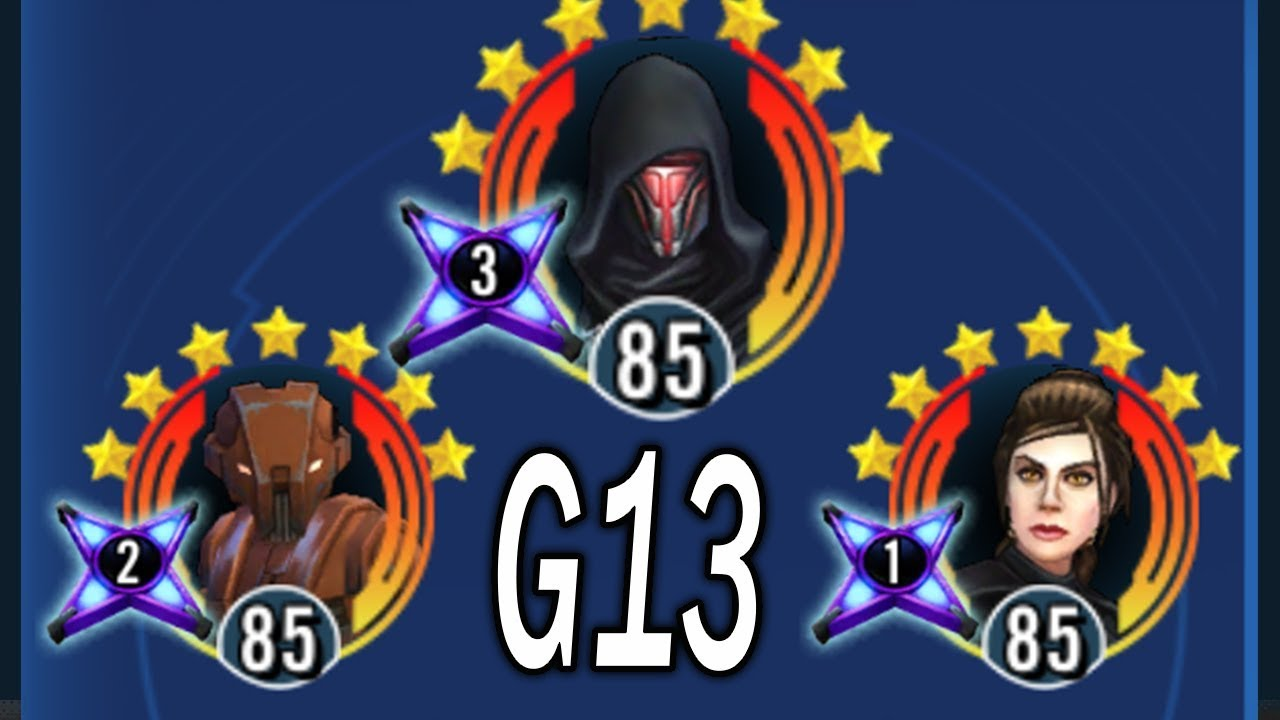 Boosts to 89 Characters - G12 Finishers and G13 Discussion - Star