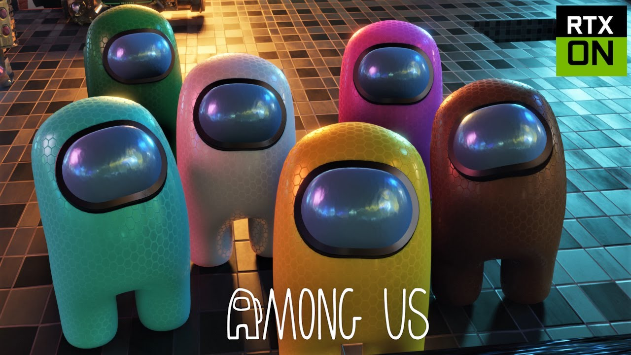 Among Us RTX On EP8 (Remake) - 3D Animation