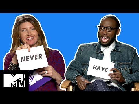 Game Night Cast Play 'Never Have I Ever'  MTV Movies