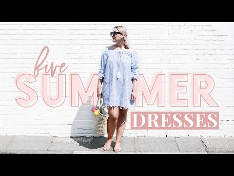 FIVE SUMMER DRESSES TO BUY THIS YEAR | HIGH STREET & AFFORDABLE | I Covet Thee Haul