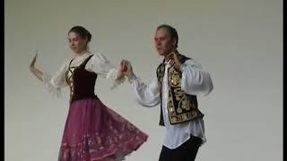 Заслуженный ансамбль танца Украины Днiпро. 2008г.  Еврейский танец. Hava Nagila.