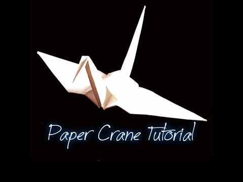 DIY - Origami (Easy) - Paper Crane Tutorial - Do It Your Self
