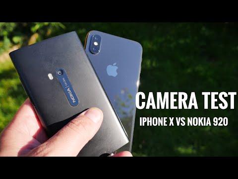 iPhone X vs Nokia Lumia 920 camera test