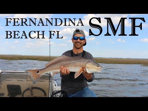SLAYIN THE REDS!! BIRTHDAY FISHING! (FERNANDINA BEACH FLORIDA) (2020)