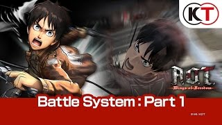 A.O.T. WINGS OF FREEDOM - PART 1: BATTLE SYSTEM thumbnail