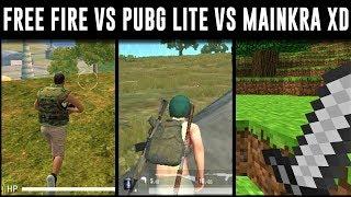Free Fire vs Pubg Mobile LITE vs Mainkra *Pelea de invalidos xddd*