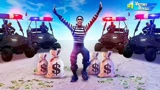 EXTREME COPS vs. ROBBERS CHALLENGE in Fortnite