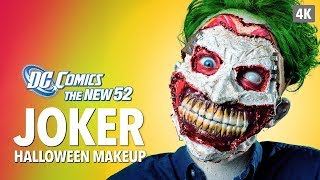 The New 52 Joker Halloween Makeup Tutorial