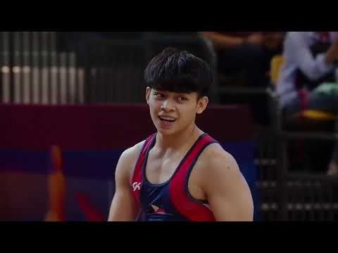 Carlos Yulo Highlights Doha World Championships 2018