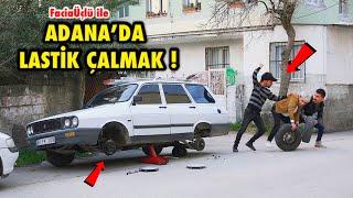 ADANA'DA LASTİK SÖKME ŞAKASI ! w/ Facia Üçlü