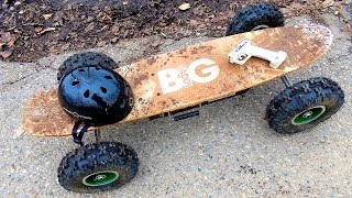 RC ADVENTURES - Radio Controlled Off Road Skateboard