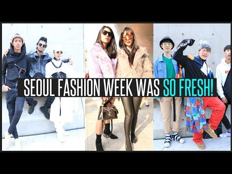 Seoul Fashion Week 2018: Korean Street Style