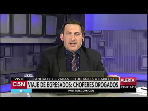 C5N - Policiales: viajaban a Bariloche con choferes drogados