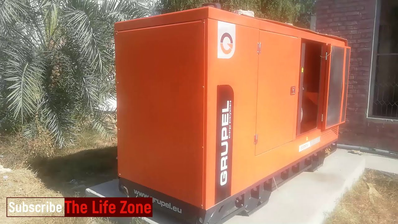Leroy-Somer 220 KVA Diesel Generator Specifications