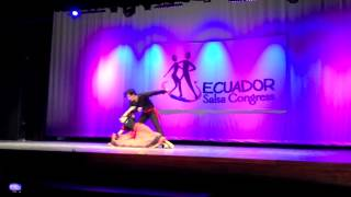 Ecuador Salsa Congress 2013 - Dance Performance
