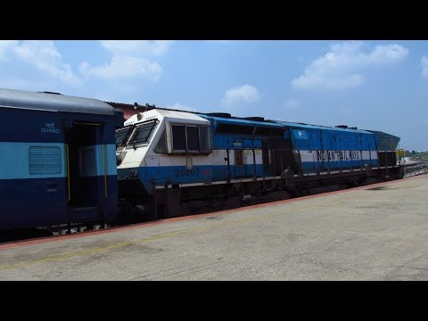Weekend Trip To Mysore | 2 Railfans; 1 Journey | ALCos, EMDS& amazing gradients- INDIAN RAILWAYS