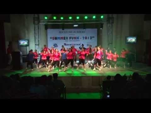 Wild ones flo rida with Punjabi tadka by Rockstar Academy chandigarh -Summer camp kids-2013