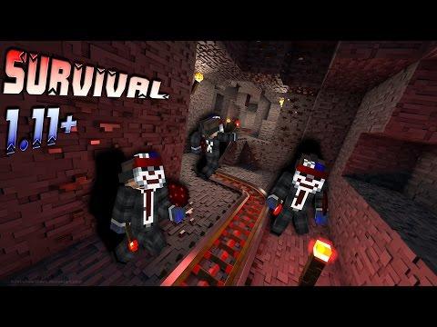 Survival 1.11+ ep13 - Transportes rápidos por el nether