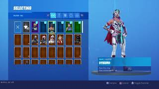 Selling my stacked 100+ skin fortnite account