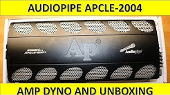 Audiopipe APCLE-2004 Amp Dyno and Unboxing