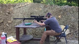 First Shot With the Bushmaster BA50