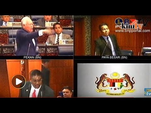 Minta penjelasan 1MDB, harga cincin kedengaran ketika Najib berucap