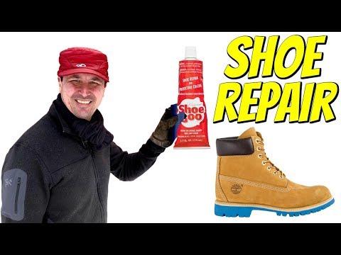 SHOE REPAIR - How To Repair Your Shoes