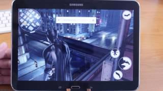 Как Batman The Dark Knight идет на Samsung Galaxy Tab 4 10.1