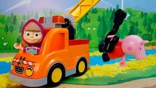 Маша и Медведь и Свинка Пеппа Самая новая серия 2017! Мультики для детей Истории Игрушек Видео 2017