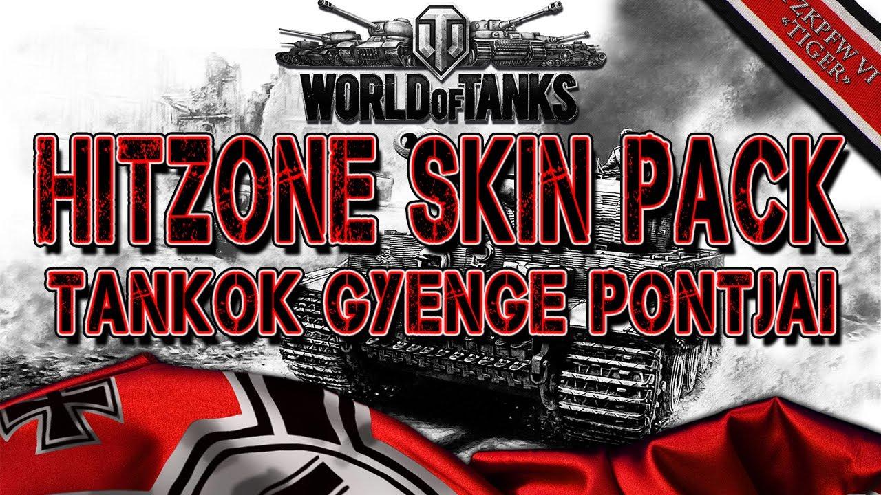 World of Tanks: Tankok gyenge pontjai, Hitzone skin pack ...