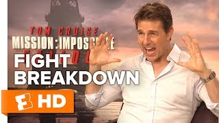 Tom Cruise & Henry Cavill Detail the 'Bathroom Brawl' Fight Scene | Mission: Impossible - Fallout