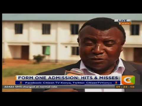 Citizen Extra : Form one admission hits and misses