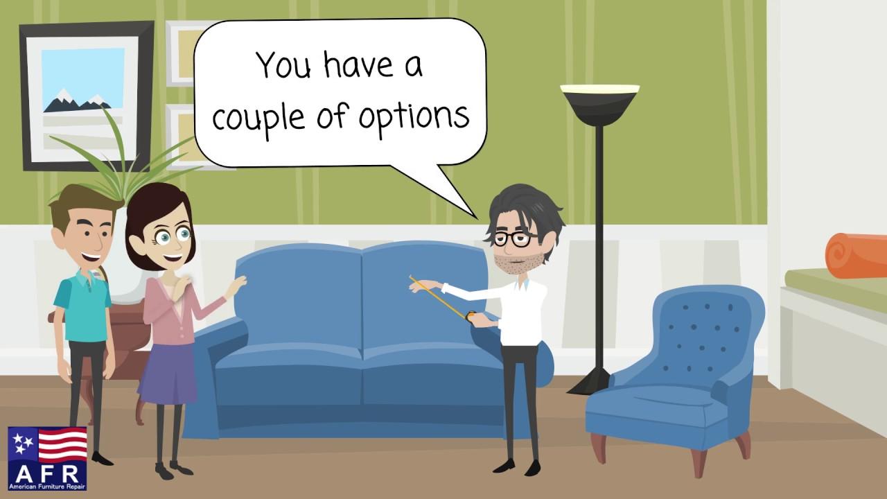 Animated Explainer Video For Furniture Repair Business   American Furniture  Repair
