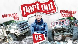 Chevy Colorado ZR2 vs Jeep Wrangler Rubicon