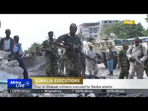 Four al-Shabaab militants executed for Baidoa attacks