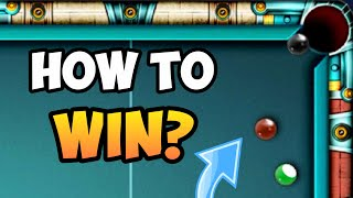 how to win from snookers? • (8 ball pool)