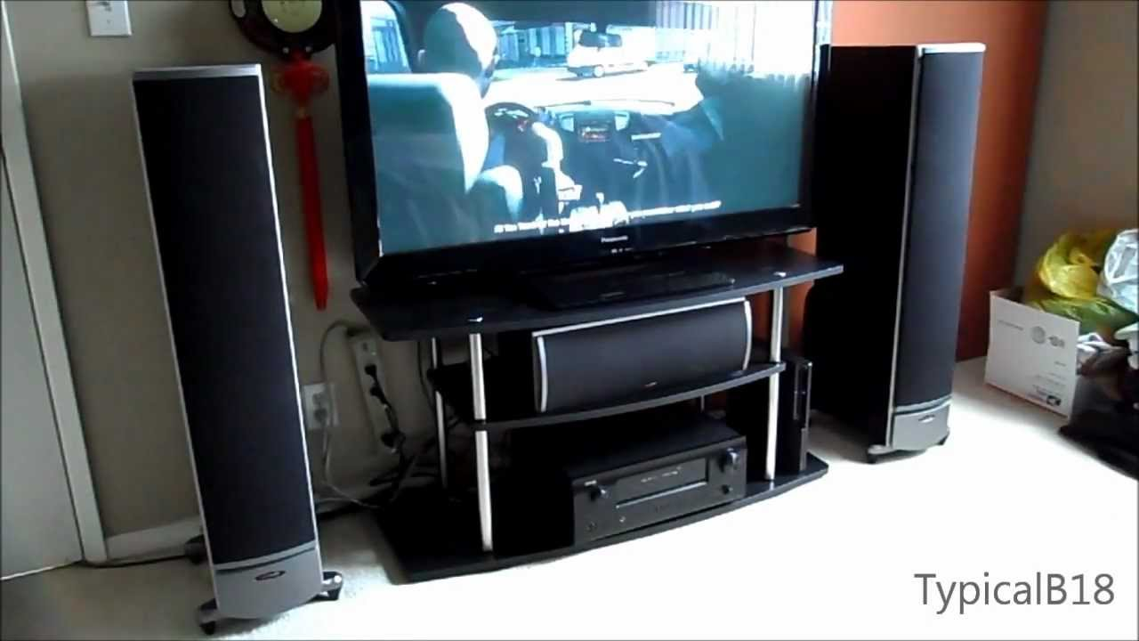 Complete Home Theater Set Up Speakers